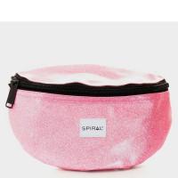 Spiral Harvard Heuptas Glitter Jelly Pink