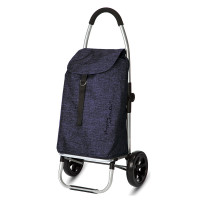 Playmarket Go Two Compact Boodschappentrolley Jeans