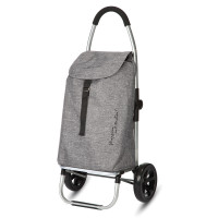 Playmarket Go Two Compact Boodschappentrolley Textured
