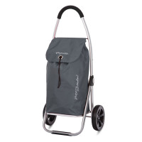 Playmarket Go Two Boodschappentrolley Grey