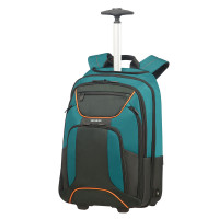 Samsonite Kleur Laptop Backpack Wheels 17.3'' Green/Dark Green