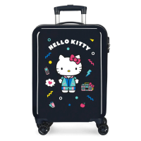 Disney Trolley 55 Cm 4 Wheels Hello Kitty Black