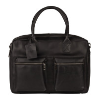 Burkely Vintage Alex Worker Schoudertas Black