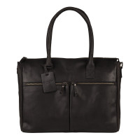 "Burkely Vintage Valerie Laptop Bag 15.6"" Black"