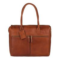 "Burkely Vintage Valerie Laptop Bag 15.6"" Cognac"