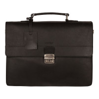 Burkely Vintage Dean Briefcase 3-Vaks Black