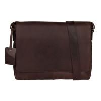 Burkely Vintage Juul Messenger Bag Brown