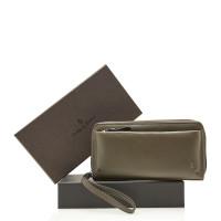Castelijn & Beerens Giftbox Dames Ritsportemonnee RFID Olive Green