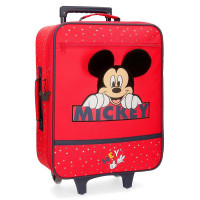 Disney Soft Trolley 50 Cm 2 Wheels Mickey Mouse Happy
