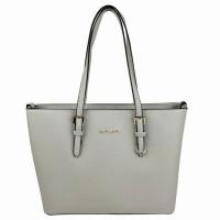 Flora & Co Shoulder Bag Saffiano Light Grey