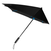 Impliva STORMaxi Stormparaplu Special Edition Black Blue