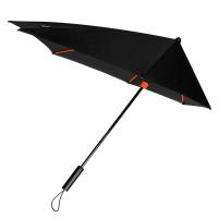 Impliva STORMaxi Stormparaplu Special Edition Black Orange