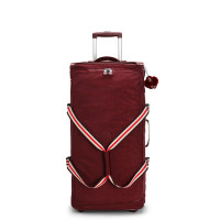 Kipling Teagan L Wheels Burnt Carmine M