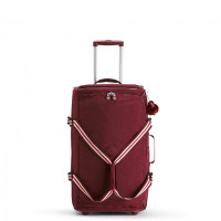 Kipling Teagan M Wheels Burnt Carmine M