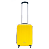Line Leyton Handbagage 4 Wheel Spinner Yellow