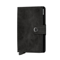Secrid Mini Wallet Portemonnee Vintage Black