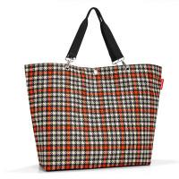 Reisenthel Shopper XL / Strandtas Glencheck Red