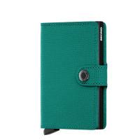 Secrid Mini Wallet Portemonnee Crisple Emerald Black