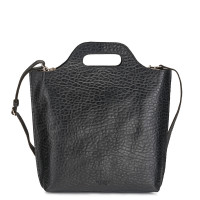 Myomy My Carry Bag Shopper Medium Bubble Black