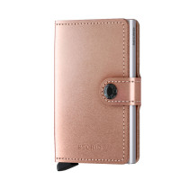 Secrid Mini Wallet Portemonnee Metallic Rose