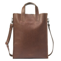 Myomy My Paper Bag Short Handle Cross-Body Rambler Brandy