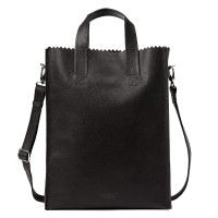 Myomy My Paper Bag Short Handle Cross-Body Rambler Black