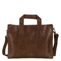 Myomy My Paper Bag Handbag Cross-Body Bubble Brandy