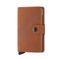Secrid Mini Wallet Portemonnee Stitch Linea Caramello
