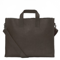 Myomy My Paper Bag Business Bag Hunter Off Black
