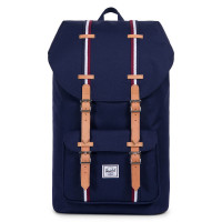 Herschel Little America Rugzak Offset Peacoat/Windsor Wine/White