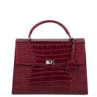 """Socha Audrey Businessbag 13.3"""" Croco Burgundy"""