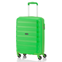 Travelite Nova 4 Wheel Trolley S Light Green