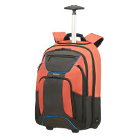 Samsonite Kleur Laptop Backpack Wheels 17.3'' Orange/Anthracite