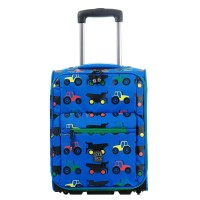 Pick & Pack Fun Trolley Tractor Blue
