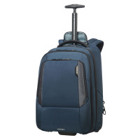 "Samsonite Cityscape Tech Laptop Backpack 17.3"" Wheels Space Blue"