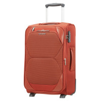 Samsonite Dynamore Upright 55 Expandable Length 35 Burnt Orange
