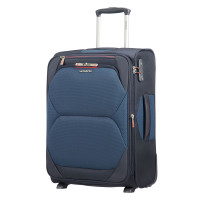 Samsonite Dynamore Upright 55 Expandable Length 40 Blue