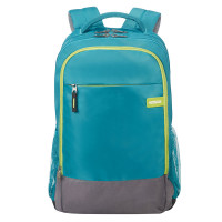 American Tourister Urban Groove UG Backpack 1 Light Blue/ Lime