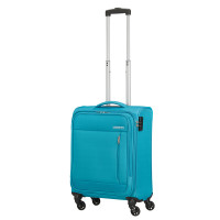 American Tourister Heat Wave Spinner 55 Sporty Blue