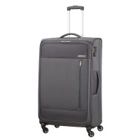 American Tourister Heat Wave Spinner 80 Charcoal Grey