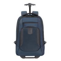 """Samsonite Cityscape Evo Laptop Backpack Wheels 15.6"""" Blue"""
