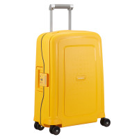 Samsonite S'Cure Spinner 55 Sunset Yellow/Navy Blue