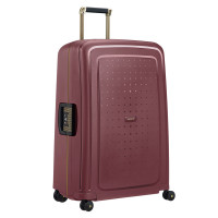 Samsonite S'Cure Deluxe Spinner 75 Burgundy/Gold Deluscious