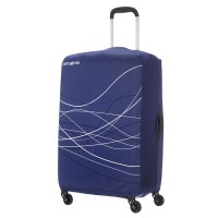 Samsonite Travel Accessoires Opvouwbare Kofferhoes L Indigo Blue