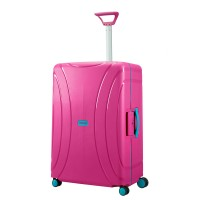 American Tourister Lock 'N' Roll Spinner 75 Summer Pink