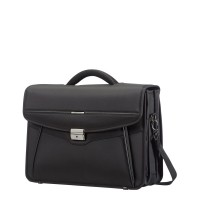 Samsonite Desklite Briefcase 3 Vaks 15.6'' Black