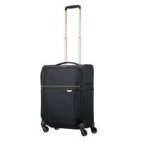 Samsonite Uplite Spinner 55 Expandable Black/ Gold