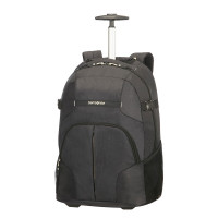 Samsonite Rewind Laptop Backpack Wheels 55 Black
