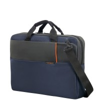 "Samsonite Qibyte Laptop Schoudertas 17.3"" Blue"