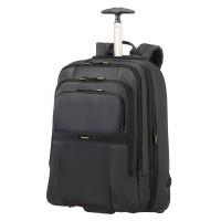 "Samsonite Infinipak Laptop Backpack Wheels 17.3"" Expandable Black/Black"